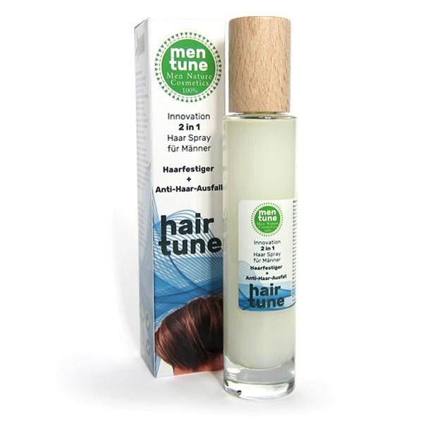 MenTune HairTune Mann 3in1 Haarspray Festiger + anti Ausfall + Wachstum Parfum Naturprodukt 100ml ve